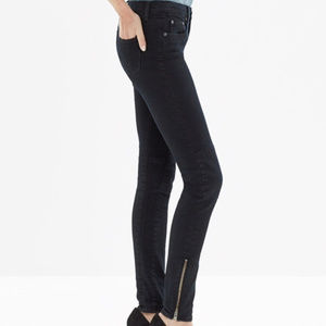 Madewell High Rise Skinny Skinny ankle Jeans